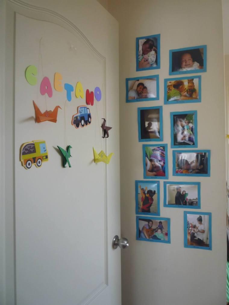 Fotos en el cuarto de Caetano <3