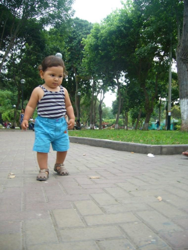El pequeño caminante <3