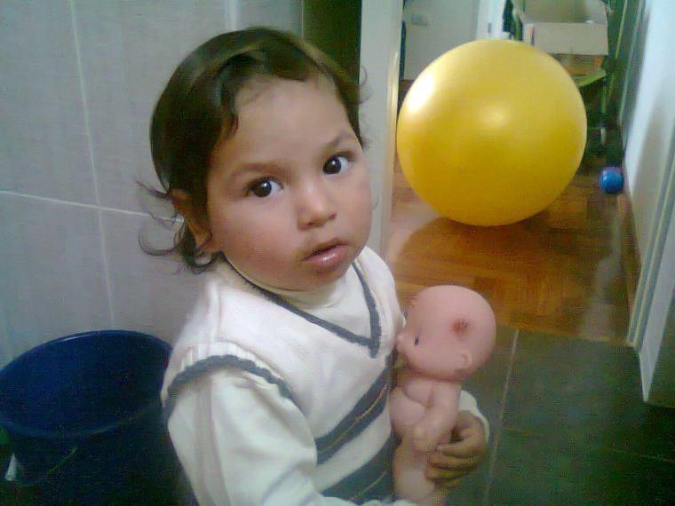Caetano y su bebé <3